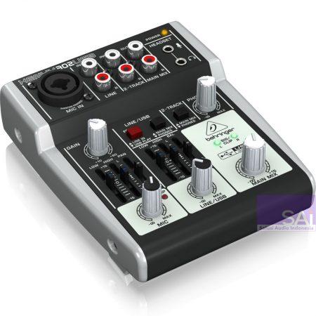Behringer Xenyx 302 USB Analog Mixer