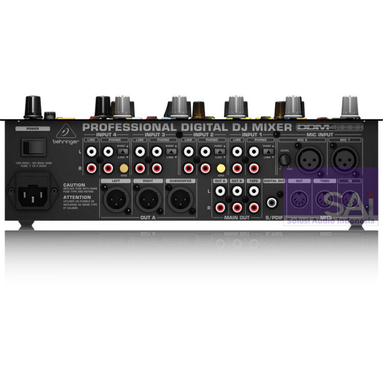 Behringer DDM4000 4-Channel Pro Digital DJ Mixer