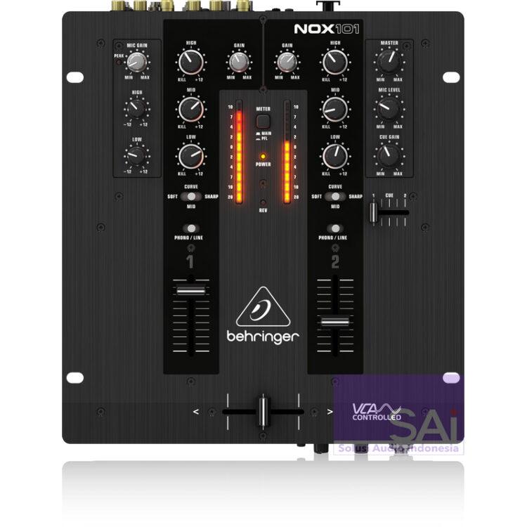 Behringer Pro NOX101 2-channel DJ Mixer
