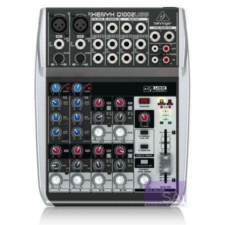 Behringer Q1002 USB Analog Mixer