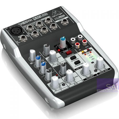 Behringer Xenyx Q502 USB 5-Channel Analog Mixer