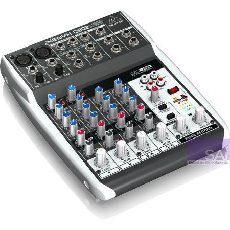 Behringer Q802 USB Analog Mixer