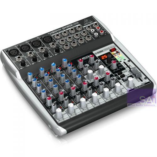 Behringer Xenyx Q1202 USB 12-Channel Analog Mixer