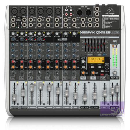 Behringer QX1222 USB Analog Mixer