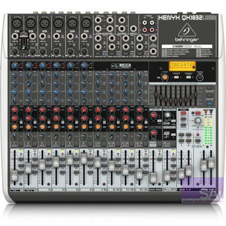 Behringer QX1832 USB Analog Mixer
