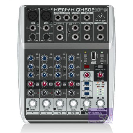 Behringer QX602 MP3 Analog Mixer