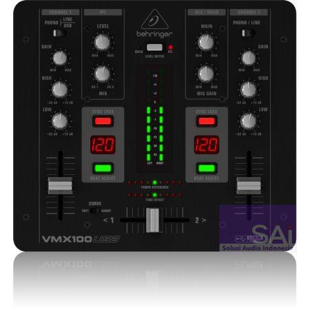 Behringer VMX100-USB DJ Mixer