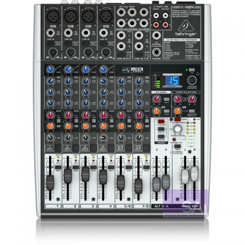 Behringer Xenyx X1204 USB 12-Channel Analog Mixer