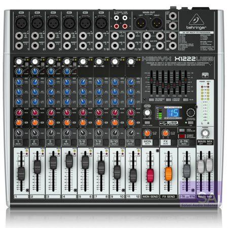 Behringer X1222 USB Analog Mixer