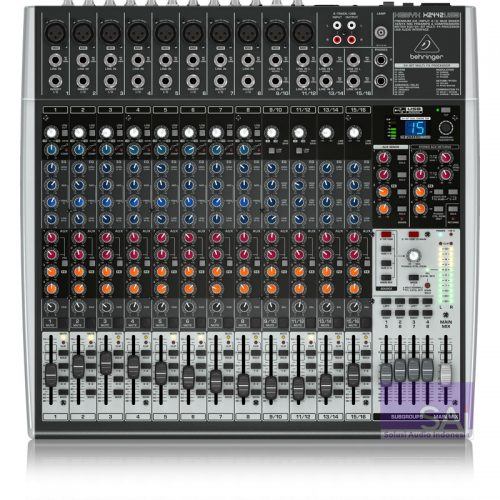Behringer Xenyx X2442 USB 24-Channel Analog Mixer