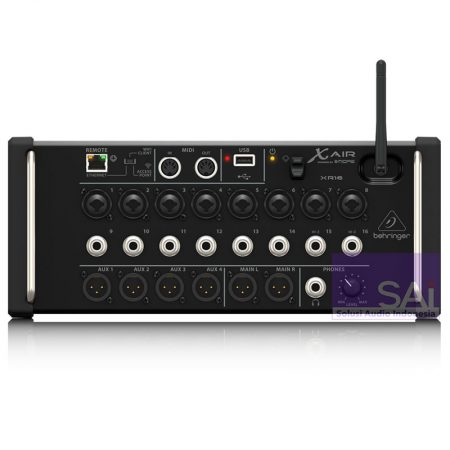 Behringer X Air XR-16 Tablet-controlled Digital Mixer