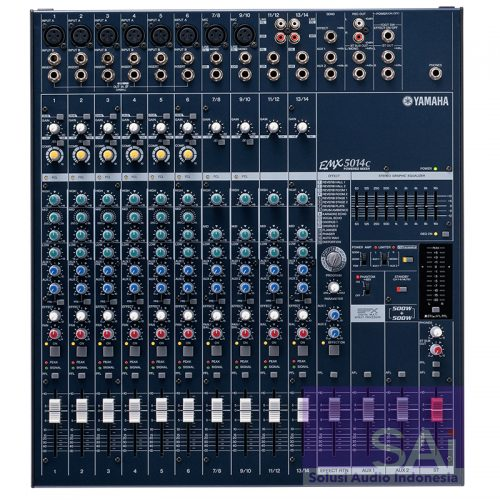 Yamaha EMX5014C 14-Channel Powered Mixer