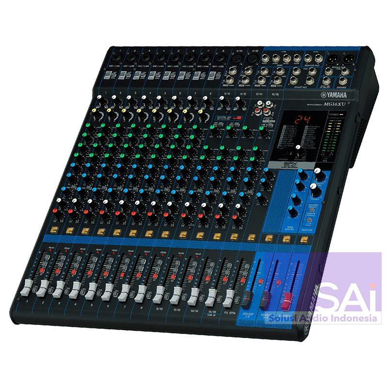Yamaha MG16XU 16-Channel Analog Mixer (USB+FX)