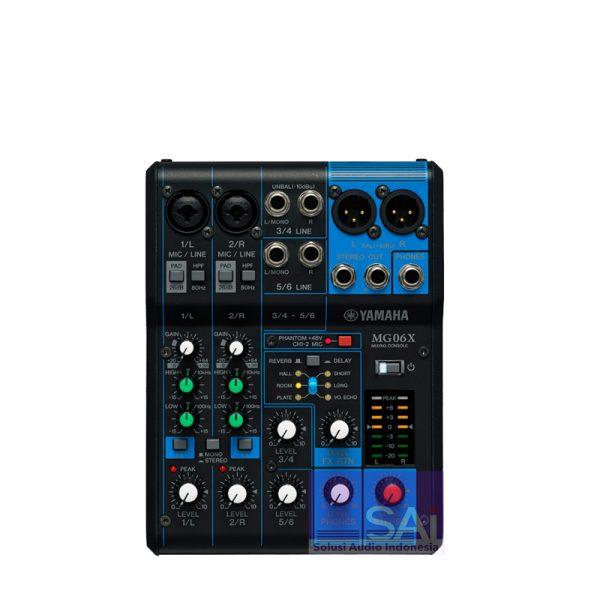 Yamaha MG06X Original Analog Mixer
