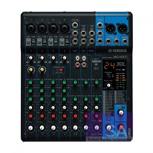 Yamaha MG10XU 10-Channel Analog Mixer