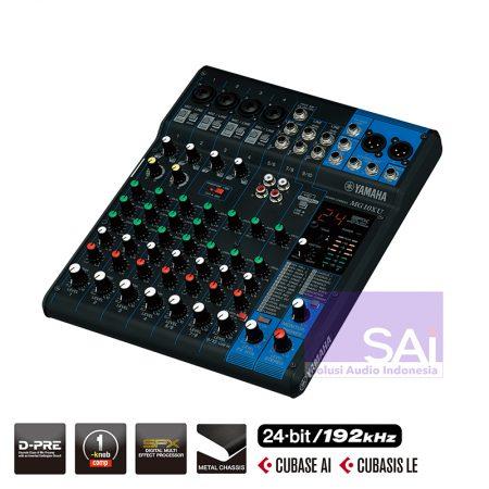 Yamaha MG-10XU 10 Channel Analog Mixer