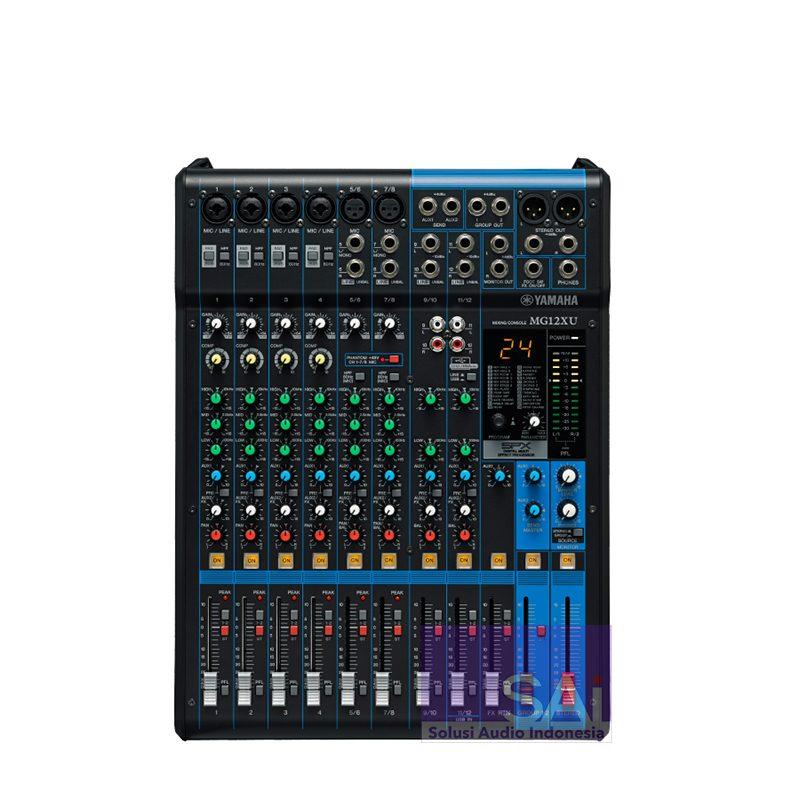 Yamaha MG12XU 12-Channel Analog Mixer