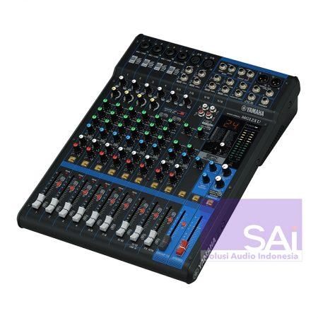 Yamaha MG-12XU 12 Channel Analog Mixer Side
