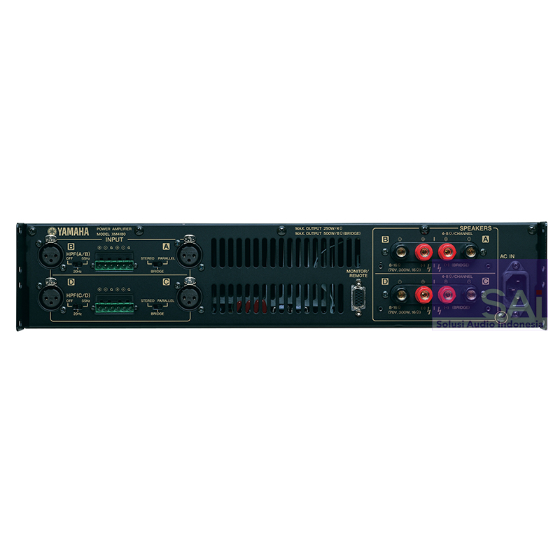 Yamaha XM4180 4-Channel PA System Power Amplifier