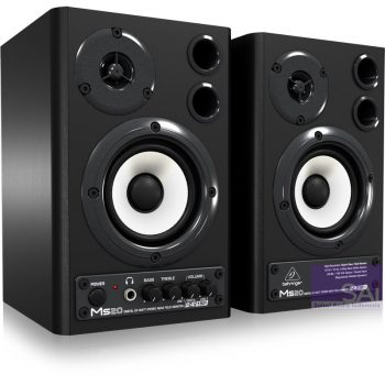 Behringer MS-20 3.6″ Active Studio Monitor Speakers