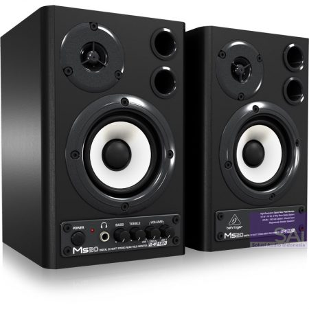 Behringer MS-20 3.6″ Active Monitor Speakers