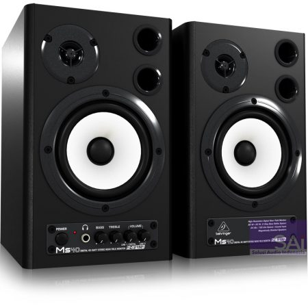 Behringer MS40 4.75″ Active Monitor Speakers