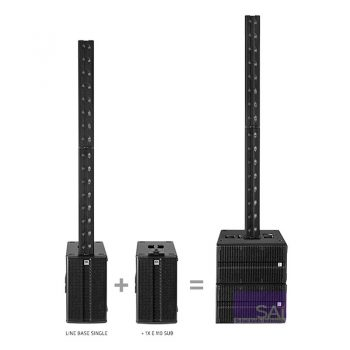 HK Audio Line Base Single Active Mono Portable PA System