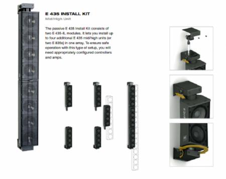 HK Audio E 435A Install Kit Aktif