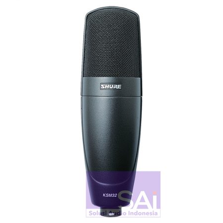 Shure KSM32 Cardioid Condenser Microphone Charcoal