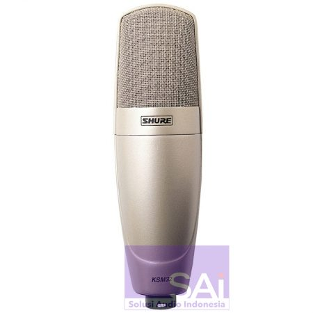 Shure KSM32 Cardioid Condenser Microphone Champagne