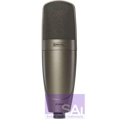 Shure KSM42 Large Dual-Diaphragm Microphone