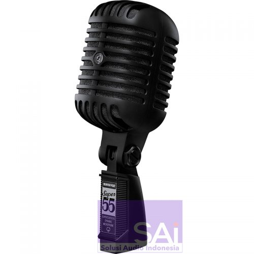 Shure 55-BLK Deluxe Vocal Microphone Pitch Black Edition