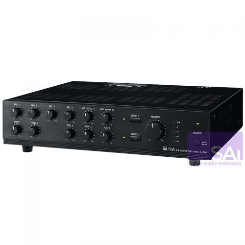TOA A-1706 Mixer Amplifier