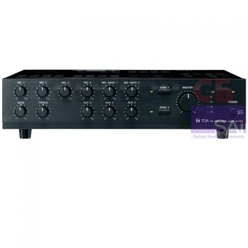 TOA A-1724 Mixer Amplifier