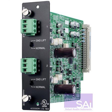 TOA D-921E Audio Connector