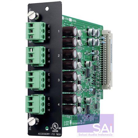 TOA D-971E Audio Connector