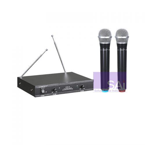 KREZT DTD-37 Dual Handheld Wireless Microphone