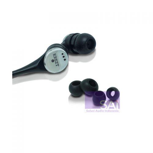 KREZT KR-04E02 Black In-Ear Earphone