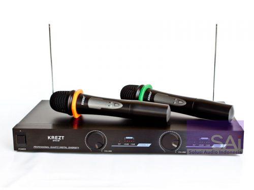 KREZT DTD-67A Dual Handheld Wireless Microphone