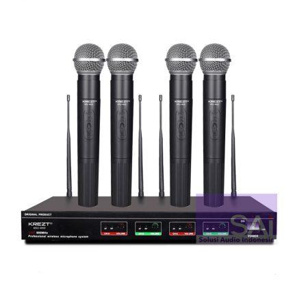 KREZT EU-4800 Microphone Wireless