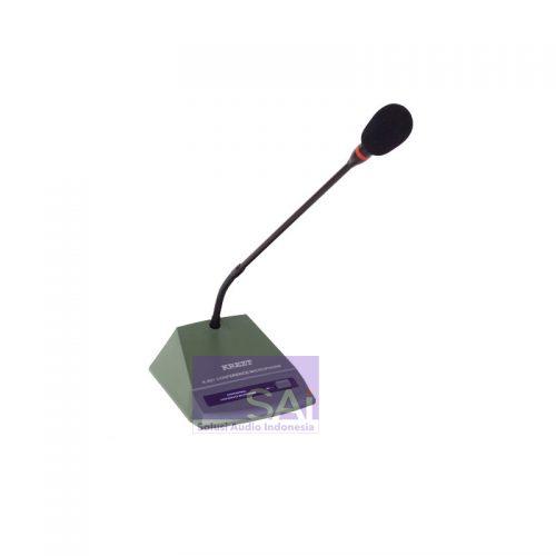 KREZT K-501 Mic Meja Condensor Podium (Gooseneck)