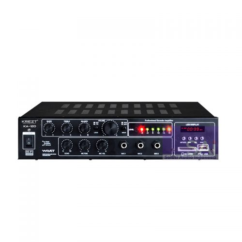 KREZT KA-120 Amplifier Karaoke 2 Channel
