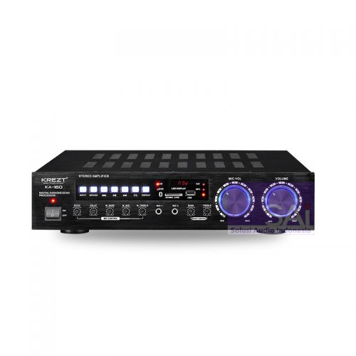 KREZT KA-160 Amplifier Karaoke 2 Channel