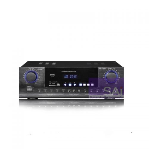KREZT KA-188 Amplifier Karaoke 2 Channel