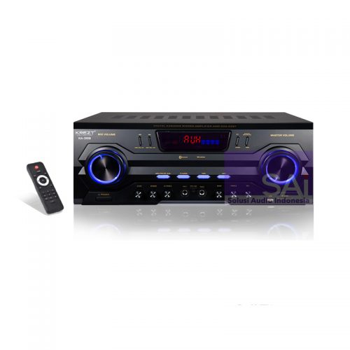 KREZT KA-388B Amplifier Karaoke 2 Channel