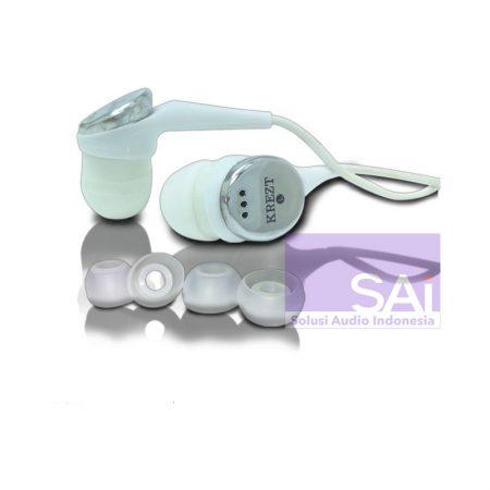 KREZT KR-04E02 WHITE Earphone