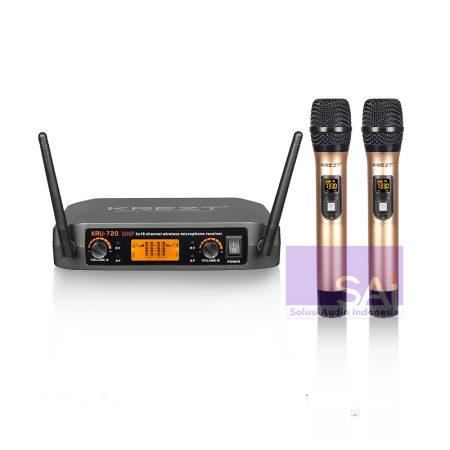 KREZT KRU-720 Microphone Wireless