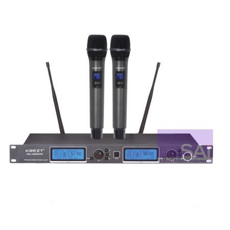 KREZT KRU 8020NXR Microphone Wireless