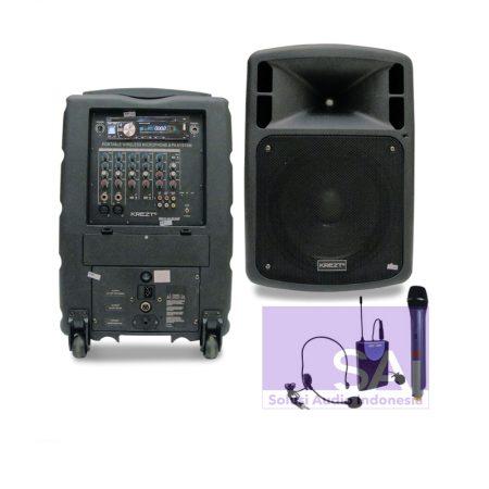 KREZT WAS-010UHF Portable Wireless