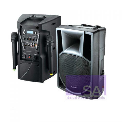 KREZT WAS-8208B Portable Wireless 8-Inch (2 Mic Wireless)